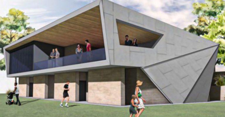 Sports Pavilion & Greenkeeper's Shed